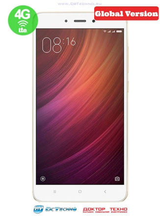 Xiaomi Redmi Note 4 64Gb+4Gb (Snapdragon 625) EU Gold (Золотой)