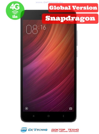 Xiaomi Redmi Note 4 32Gb+3Gb (Snapdragon 625) EU Dark Grey (Темно-Серый)