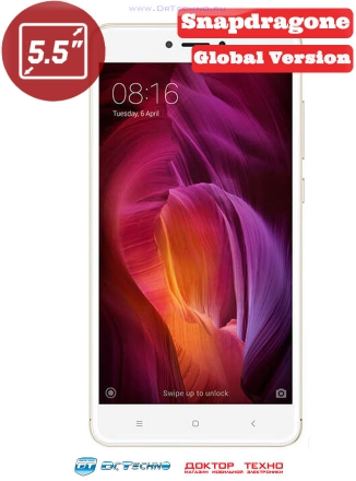 Xiaomi Redmi Note 4 64Gb+4Gb (Snapdragon 625) Global Version Gold (Золотой)
