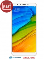 Xiaomi Redmi 5 Plus 3/32GB Gold (Золотой)