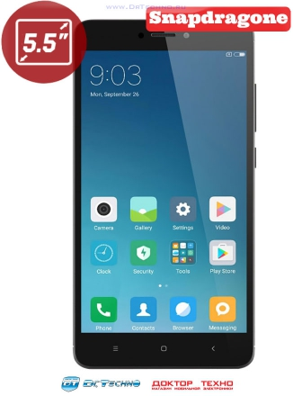 Xiaomi Redmi Note 4X 64Gb+4Gb Black (Чёрный)