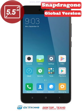 Xiaomi Redmi Note 4X 64Gb+4Gb Global Version Grey (Серый)
