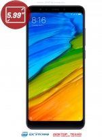 Xiaomi Redmi 5 Plus 4/64GB Black (Черный)