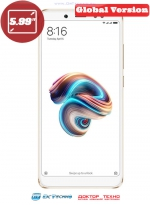 Xiaomi Redmi Note 5 3/32GB Global Version Gold (Золотистый)