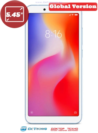 Xiaomi Redmi 6A 2/32GB Global Version Blue (Голубой)