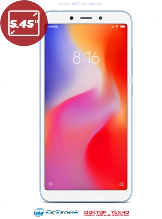 Xiaomi Redmi 6A 2/16GB Blue (Голубой)