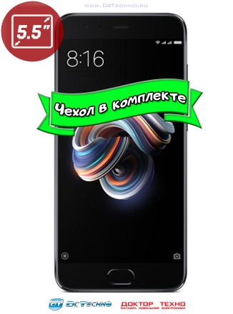 Xiaomi Mi Note 3 6/128GB Black (Чёрный)