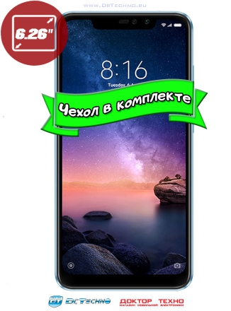 Xiaomi Redmi Note 6 Pro 4/64GB Global Version Blue (Синий)