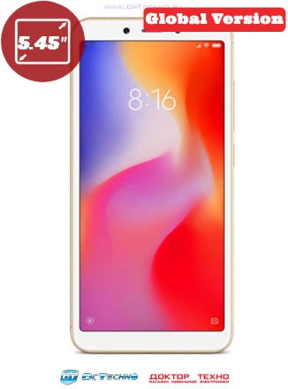 Xiaomi Redmi 6 3/64GB Global Version Gold (Золотой)