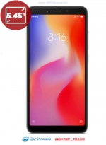 Xiaomi Redmi 6 3/32GB Grey (Серебристый)