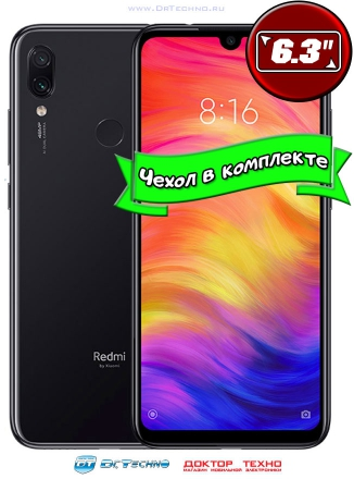 Xiaomi Redmi Note 7 6/64GB Black (Черный)