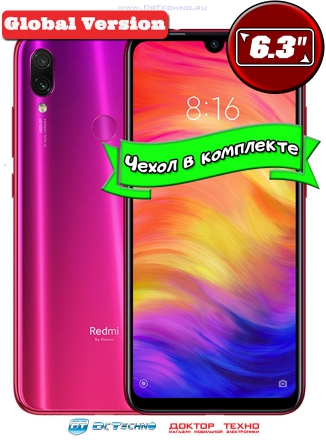 Xiaomi Redmi Note 7 4/64GB Global Version Red (Красный)