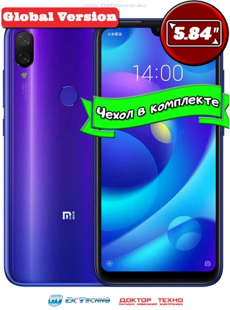 Xiaomi Mi Play 4/64GB Global Version Blue (Синий)