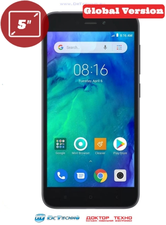 Xiaomi Redmi Go 1/16Gb Global Version Black (Черный)