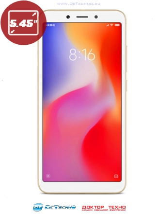 Xiaomi Redmi 6 4/64GB Global Version Gold (Золотой)
