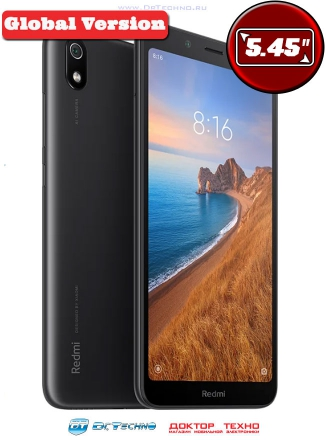 Xiaomi Redmi 7A 2/16GB Global Version Black (Черный)