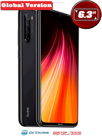 Xiaomi Redmi Note 8 4/64GB Global Version Black (Черный)