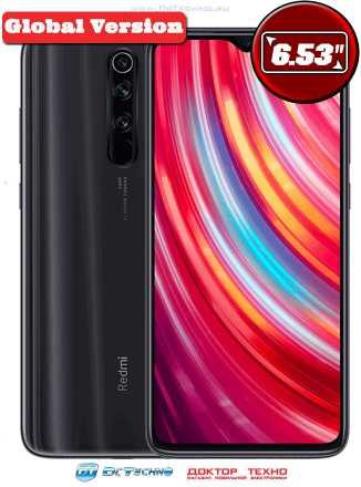 Xiaomi Redmi Note 8 Pro 6/64GB Global Version Black (Черный)