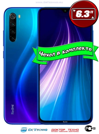 Xiaomi Redmi Note 8T 3/32GB (Синий)